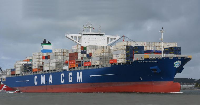 Oceanbulk - Successful delivery of C/V CMA CGM MEKONG, 10,000 TEU vessel